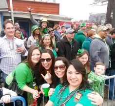 St Patty's Crowd at the Parade #1800StPattysParade