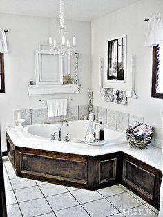 40 Corner Tub Ideas Corner Tub Bathrooms Remodel Tub