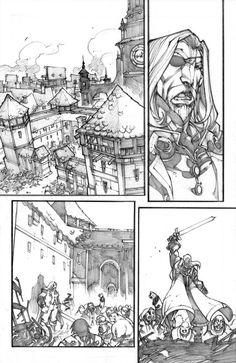 WoW Curse of the Worgen 4 pg11 by LudoLullabi.deviantart.com on @deviantART
