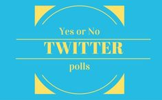 So, what exactly is a twitter poll and how can it benefit your business? - Stay on the Twitter Trend by @lizzieearley