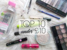 Top 10 Under £10 // #IrishBlogCollab