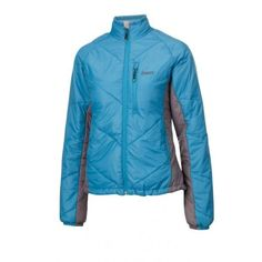 Keela Ladies Belay Jacket - Blue The Ladies Belay jacket has a close form fit yet enough room for ease of movement and has an excellent warmth to