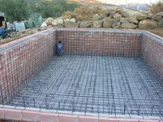 Swimming pool construction costs are depend on the design, which includes the material, and also the parts. The above ground and the in ground swimming pool requires different construction technic Luxury Swimming Pools, Luxury Pools, Swimming Pool Construction, Pool Companies, Pool Contractors, Pool Installation, Concrete Pool, Fiberglass Pools, Pool Builders