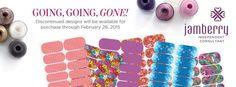 Order at http://debandmomjams.jamberrynails.net/ #goinggoinggone #jamberry #jamberrynails