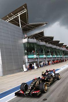 On Track at the #F1 2015 Petronas Malaysian Grand Prix