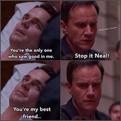 Neal and Peter, at the end