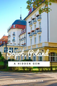 The Best Things to do in Sopot, Poland. #Sopot #Poland #Pomorskie #PomorskiePrestige #HiddenGem
