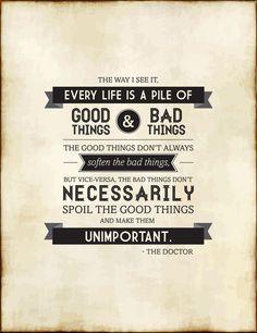 good & bad things