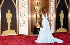 Lupita Nyong'o in Prada at the Oscars 2014