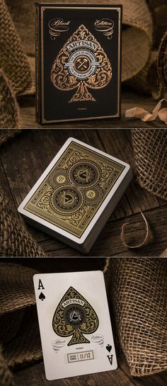 A stunning mix of eco-friendly elegance, style, and sophistication, this gorgeous deck was hand-illustrated by designer Simon Frouws. The elegant packaging and detailed design also makes these luxury cards the perfect gift for any magician/card collector/player! #colossal