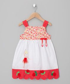White Embroidered Ballerina Dress - Infant, Toddler & Girls | Something special every day