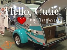 Tiny trailers were drawing crowds at the Denver RV Show. From teardrops to truck campers to all aluminum hybrids, we are talking about our 8 favorite ones.