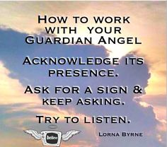 Your Guardian Angel wants to help you!.  Lorna Byrne is an internationally-known Irish mystic who has communicated with Angels from the cradle. Amazingly she was my first interview! Click 2x on the Pin to listen to Lorna talk about working with our Guardian Angels..Shared with Love.