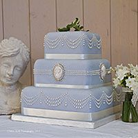Wedding cakes by Curtis and Co Cakes - Home-baked in Gloucestershire