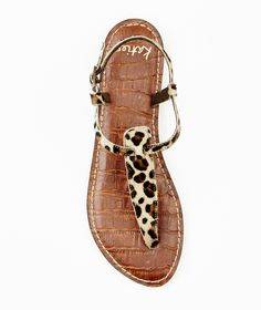 Everyone loves leopard print and everyone loves shoes - so, this really is THE perfect gift! T Strap Sandals, Christmas Inspiration, Leather, Gifts, Shoes, Fashion, Moda, Presents, Zapatos