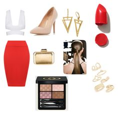 """""""Untitled #8"""" by aeuu13 ❤ liked on Polyvore featuring bellezza, WearAll, Dorothy Perkins, KOTUR, NARS Cosmetics, Gucci e Topshop"""