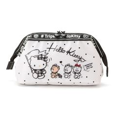 8b6dcd6f6d1c Hello Kitty  New  Wire Containing Pouch Sanrio Kawaii Cute Japan Free  Shipping Hello Kitty