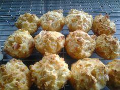 Cheese and ham muffins!