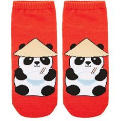 7de9c2cb1 Forever21 Noodle Panda Ankle Socks ($1.90) ❤ liked on Polyvore featuring  intimates, hosiery, socks, panda socks, cotton socks, tennis socks, forever  21 and ...