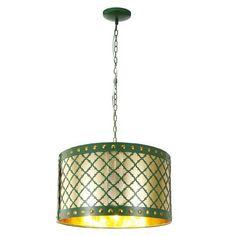 A&B Home 3 Light Drum Chandelier - http://chandelierspot.com/ab-home-3-light-drum-chandelier-603433426/