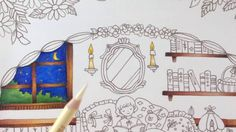Romantic country - tutorial part 1 - prismacolor pencils
