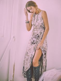 Free People Bright Lights Wrap Dress at Free People Clothing Boutique