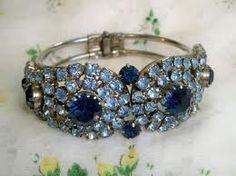 vintage clamp bracelet