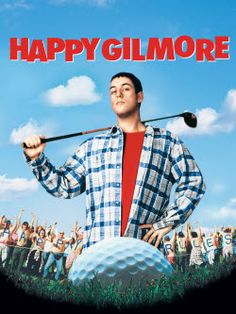 Directed by Dennis Dugan. With Adam Sandler, Christopher McDonald, Julie Bowen, Frances Bay. A rejected hockey player puts his skills to the golf course to save his grandmother's house. Funny Movies, Comedy Movies, Great Movies, 90s Movies, Awesome Movies, Disney Movies, Julie Bowen, Movies And Series, Movies And Tv Shows
