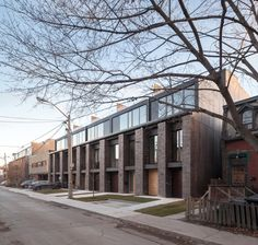 Image 1 of 23 from gallery of Riverdale Townhomes / Studio JCI. Photograph by  Scott Norsworthy