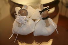 sposi mollette ...bomboniere matrimonio