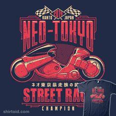 Neo-Toyko Street Racing Champion #adamhowlett #adho1982 #akira #anime #film…