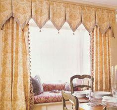 Drapery Design: Bay Window Ideas