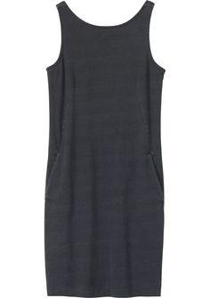 Designer Clothes, Shoes & Bags for Women Black Slip Dress, Black Midi Dress, Dress Outfits, Casual Dresses, Black Dress With Pockets, Calf Length Dress, Kohls Dresses, Couture Fashion, Dresses With Sleeves