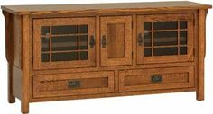 Craftsman TV Console Plans Wanted