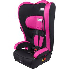 InfaSecure Racing Kid Plus Convertible Booster Pink