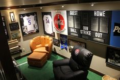 Basement Man Cave Decorating Ideas