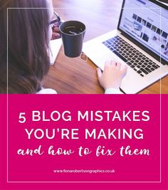 When you're starting your blog, it's easy to make mistakes. But WordPress makes it easy to fix them. I'll show you 5 blog mistakes you're making, and how to fix them.