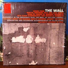 Songs From The Wall Vinyl Record LP 1961 Folkways Norbert & Rochelle Horowitz, Rita Karin Yiddish Jewish Warsaw Ghetto Uprising by vintagebaronrecords on Etsy