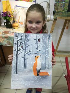 Фотографии Рисование детям. ИЗОстудия. Просвещения 62. Drawing For Kids, Painting For Kids, Art For Kids, 3rd Grade Art, Winter Art, Creative Activities, Paint Party, Christmas Art, Art School