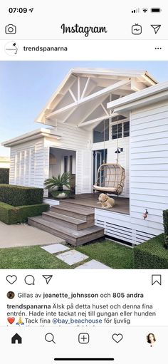 Outdoor Living, Outdoor Decor, Seaside, Pergola, New Homes, Exterior, Outdoor Structures, Nice, House Ideas