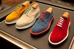 SS13 Fashion Trend: Coloured Footwear | Mens Fashion Magazine