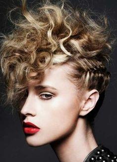 Punk Curly Hair