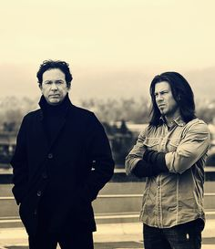 "Mmmm Mmmmm Mmmmm .,.. Timothy Hutton and Christian Kane from ""Leverage"".  GREAT PHOTO!!"