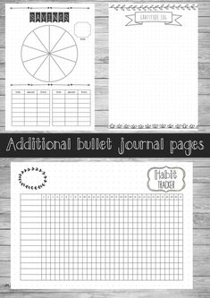 Printable Bullet Journal Starter Planner US 2017 Bullet Journal, Bullet Journal Printables, Bullet Journals, Journal Layout, Journal Pages, Bujo, Birthday Tracker, Planners, Smash Book