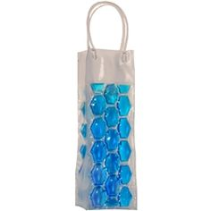 Tired of your wine getting hot before you do? Use this stylish clear and blue wine bag that is made with unique gel that freezes to create the perfect wine bag. Grab one for your next outing and arrive with a perfectly chilled bottle of wine.