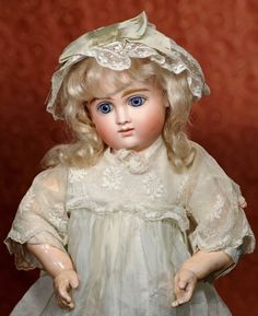 "GERMAN BISQUE DOLL KNOWN AS ""A : Lot 105"