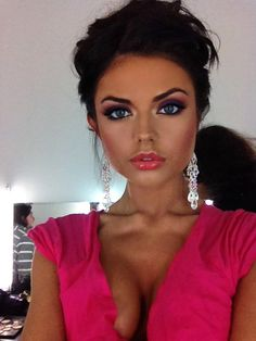 Make Up Look For 2017 Picture Description Makeup! Beauty Make-up, Fashion Beauty, Beauty Hacks, Hair Beauty, Beauty Tips, Kiss Makeup, Love Makeup, Makeup Tips, 2017 Makeup