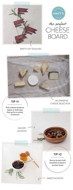 How to create the perfect cheese plate