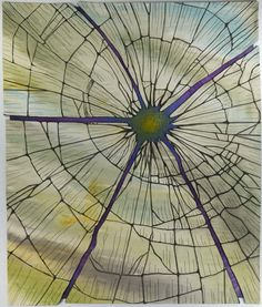 Betty Busby, Shattered, 42 x 36 inches