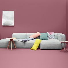 haus london Mags Soft Modular Sofa by Hay